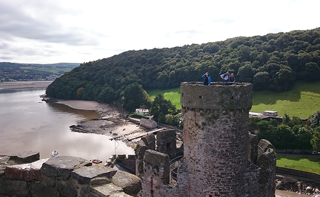 Conwy Castle, Kings Tower.